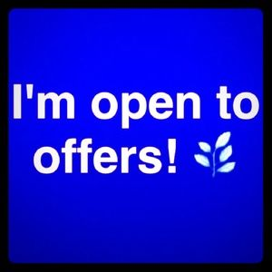 I'm open to offers and trade....